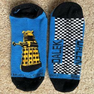 3/$15🌴 Doctor Who Socks - Dalek